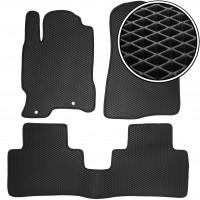 Kinetic Коврики в салон для Acura RDX '06-13, EVA-полимерные, черные (Kinetic)