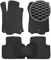 Kinetic Коврики в салон для Acura TLX '14-, EVA-полимерные, черные (Kinetic)