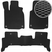Коврики в салон для Acura ZDX '09-13, EVA-полимерные, черные (Kinetic)