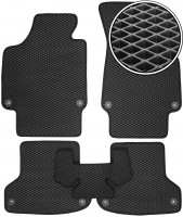 Kinetic Коврики в салон для Audi A3 '04-12, EVA-полимерные, черные (Kinetic)