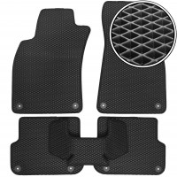 Коврики в салон для Audi A6 '05-10, EVA-полимерные, черные (Kinetic)