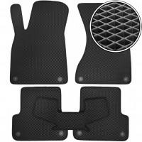 Коврики в салон для Audi A7 '10-17, EVA-полимерные, черные (Kinetic)