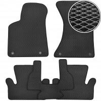 Kinetic Коврики в салон для Audi Q5 '08-17, EVA-полимерные, черные (Kinetic)
