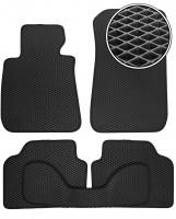 Коврики в салон для BMW 3 E90 '05-11, EVA-полимерные, черные (Kinetic)