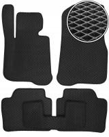 Коврики в салон для BMW 4 F32/F33/F36 '14-, EVA-полимерные, черные (Kinetic)