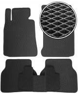 Коврики в салон для BMW 7 E38 '94-02, EVA-полимерные, черные (Kinetic)