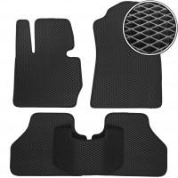 Коврики в салон для BMW X3 F25 '10-17, EVA-полимерные, черные (Kinetic)