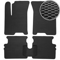 Коврики в салон для Chevrolet Aveo '04-06 SDN/HB T200, EVA-полимерные, черные (Kinetic)