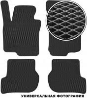 Коврики в салон для Chevrolet Aveo '08-11 Хетчбек T255, EVA-полимерные, черные (Kinetic)