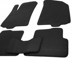 Фото товара 8 - Коврики в салон для Chevrolet Aveo '11- T300, EVA-полимерные, черные (Kinetic)