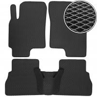 Коврики в салон для Chevrolet Epica '07-12, EVA-полимерные, черные (Kinetic)