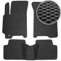 Коврики в салон для Chevrolet Lacetti '03-12 SDN/HB, EVA-полимерные, черные (Kinetic)