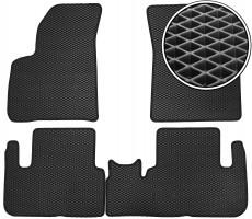 Фото товара 1 - Коврики в салон для Chevrolet Tacuma '00-08, EVA-полимерные, черные (Kinetic)