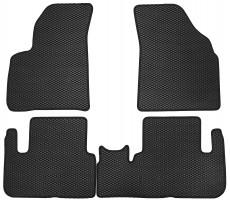 Фото товара 2 - Коврики в салон для Chevrolet Tacuma '00-08, EVA-полимерные, черные (Kinetic)