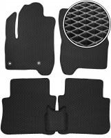 Коврики в салон для Citroen C3 '10-17 Picasso, EVA-полимерные, черные (Kinetic)