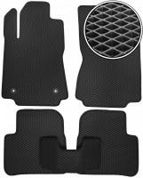 Коврики в салон для Citroen C3 2017-, EVA-полимерные, черные (Kinetic)