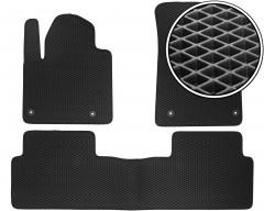 Коврики в салон для Citroen C5 / DS5 '08-, EVA-полимерные, черные (Kinetic)