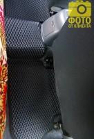Фото товара 15 - Коврики в салон для Daewoo Lanos / Sens '98-, EVA-полимерные, черные (Kinetic)