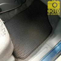 Фото товара 17 - Коврики в салон для Daewoo Lanos / Sens '98-, EVA-полимерные, черные (Kinetic)