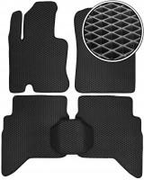 Коврики в салон для Daihatsu Terios '07-, EVA-полимерные, черные (Kinetic)
