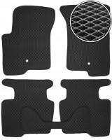 Коврики в салон для Dodge Caliber '07-12, EVA-полимерные, черные (Kinetic)