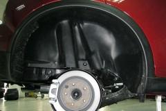 Подкрылок задний правый для Nissan Juke '11- (Novline)