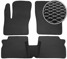 Коврики в салон для Ford C-Max '03-10, EVA-полимерные, черные (Kinetic)