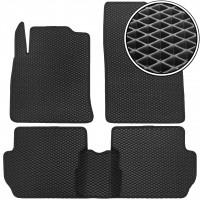 Коврики в салон для Ford Fiesta '02-09, EVA-полимерные, черные (Kinetic)