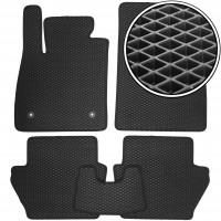 Коврики в салон для Ford Fiesta с 2018, EVA-полимерные, черные (Kinetic)