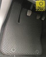 Фото товара 12 - Коврики в салон для Ford Focus II '04-11, EVA-полимерные, черные (Kinetic)