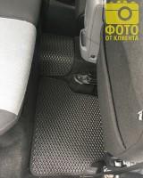Фото товара 14 - Коврики в салон для Ford Focus II '04-11, EVA-полимерные, черные (Kinetic)