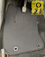 Фото товара 15 - Коврики в салон для Ford Focus II '04-11, EVA-полимерные, черные (Kinetic)