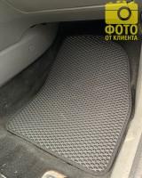 Фото товара 16 - Коврики в салон для Ford Focus II '04-11, EVA-полимерные, черные (Kinetic)