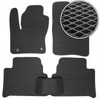 Коврики в салон для Ford Kuga '08-13, EVA-полимерные, черные (Kinetic)