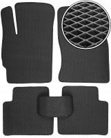 Коврики в салон для Ford Mondeo '01-07, EVA-полимерные, черные (Kinetic)