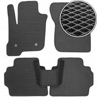 Коврики в салон для Ford Mondeo '15-, EVA-полимерные, черные (Kinetic)