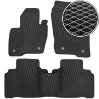 Коврики в салон для Ford Edge '16-, EVA-полимерные, черные (Kinetic)