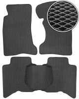 Коврики в салон для Great Wall Hover / H3 '05-, EVA-полимерные, черные (Kinetic)