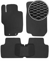 Коврики в салон для Honda Accord 7 '03-08, EVA-полимерные, черные (Kinetic)