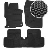 Коврики в салон для Honda Accord 8 '08-12 USA, седан , EVA-полимерные, черные (Kinetic)