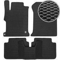Коврики в салон для Honda Accord 9 '13-17, EVA-полимерные, черные (Kinetic)