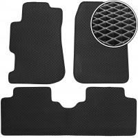 Коврики в салон для Honda Civic '01-05, EVA-полимерные, черные (Kinetic)