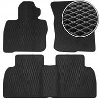Коврики в салон для Honda Civic 5D '06-12, EVA-полимерные, черные (Kinetic)