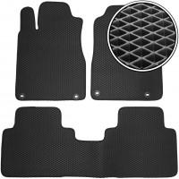 Коврики в салон для Honda CR-V '12-17, EVA-полимерные, черные (Kinetic)
