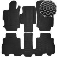 Kinetic Коврики в салон для Honda FR-V '04-09, EVA-полимерные, черные (Kinetic)