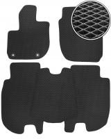 Коврики в салон для Honda HR-V '15-, EVA-полимерные, черные (Kinetic)
