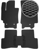 Коврики в салон для Hyundai Creta '16-, EVA-полимерные, черные (Kinetic)
