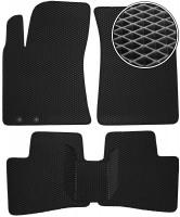 Коврики в салон для Hyundai Elantra HD '06-10, EVA-полимерные, черные (Kinetic)