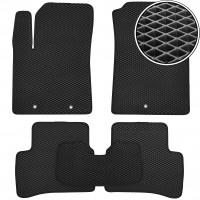 Kinetic Коврики в салон для Hyundai i-10 '14-19, EVA-полимерные, черные (Kinetic)