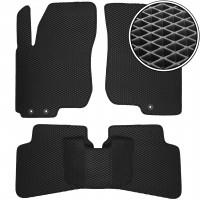 Коврики в салон для Hyundai i30 FD '07-12, EVA-полимерные, черные (Kinetic)